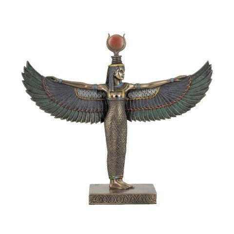 Art Deco Home - Egyptian ISIS Resin Figure 25 cm - 15248SG