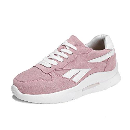 Asc colore Donne Taglia Merletti Donna 37 Rosa Spessore Sportive Scarpe Bianco Primavera OWr6Oq