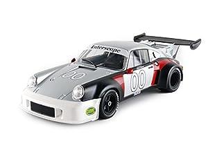Norev-187422-Porsche 911RSR Turbo 2.1-Daytona 1974-Escala 1/18-Plata/Negro/Rojo