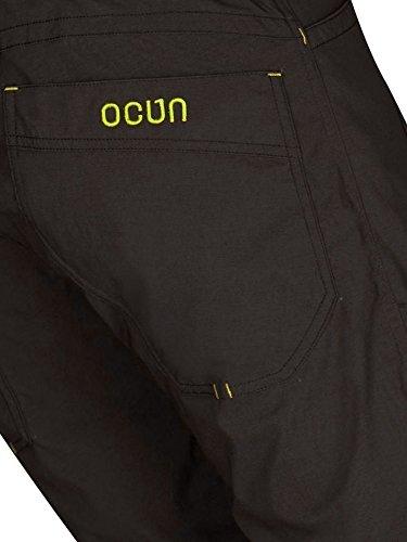 Ocun Mánia Shorts Men brown/yellow