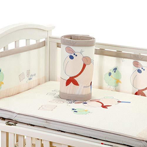 Funihut Bettumrandung 3D Atmungsaktive Baby Anti-Kollision Bettwäsche Kit Abnehmbare Krippe Liner Anti-Sturzbügel Für Babybett