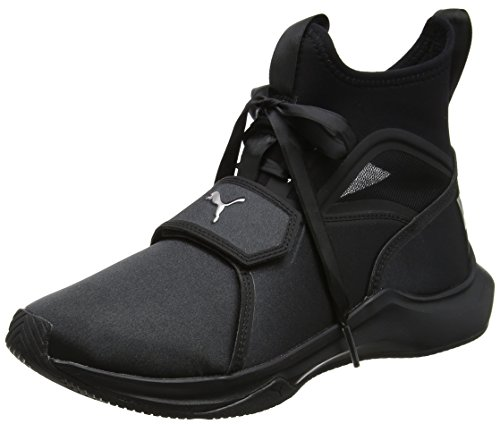 Puma Damen Phenom Satin EP Wn's Cross-Trainer Outdoor Fitnessschuhe Schwarz (Puma Black)