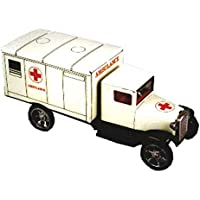 Juguete Decorativo de Hojalata CAMION Ambulancia-CHECO Vehículos de Cuerda. Juguetes y Juegos de