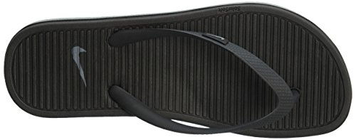 Nike Damen Wmns Solarsoft Thong 2 Zehentrenner Black (Schwarz / Grau-Grau Schwarz-Cl)