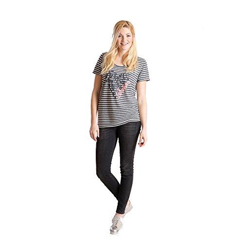 Eskadron Equestrian Fanatics Shirt LULU Relaxed-T, Größe:XS, Farbe:7603 denim striped