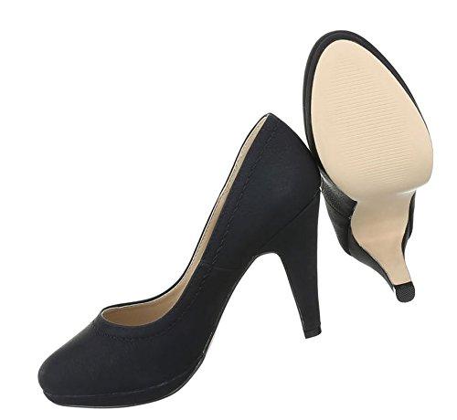 Damen Pumps Schuhe High Heels Stöckelschuhe Stiletto Plateau Beige 38 3PDOkP6