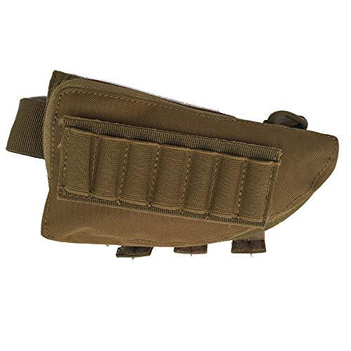 ältlich Outdoor-Multifunktions-Military Bandolier Bullet Bag Gewehrschießen Beutel Jagd taktische Beutelhalter(color:Khaki,size:Eine Größe) ()