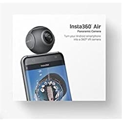 Insta360 Air 360 Degree Dual 3K lens VR Video Camera Real Time Seamless Stitching for Android Phone (Micro USB Connector