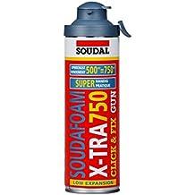 ESPUMA DE POLIURETANO SOUDAFOAM X-TRA ML.500 MANUAL