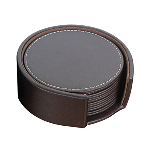 danspeed-6pcs-set-double-deck-leather-coasters-set-placemat-of-cup-with-coaster-holder-pu-leateher-c