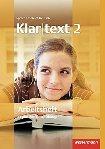 Preisvergleich Produktbild Klartext - Ausgabe Südwest: Arbeitsheft 2 mit Lösungen: plus interaktive Übungen