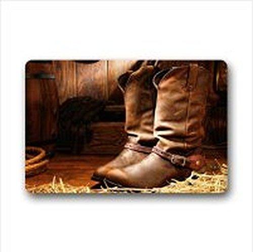 Slush-boot (HujuTM Classic Cowboy Boots Polyester Door/Outdoor Washable Doormat Door Mat 23.6 X 15.7 Inch Indoor/Outdoors Bath Kitchen Decor Area Rug 23.6 X 15.7 Inch Indoor/Outdoors)