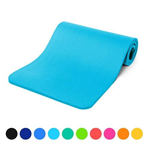 ssmatte »Amisha« / Dicke und weiche Sportmatte, ideal für Pilates, Gymnastik und Yoga, Maße: 183 x 61 x 1,2cm / hellblau ()