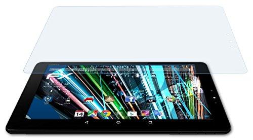 atFolix Schutzfolie kompatibel mit Allview Viva H1002 LTE Panzerfolie, ultraklare & stoßdämpfende FX Folie (2X)