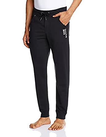 Being Human Men's Casual Joggers (8903861205213_BHTP5004_38W x 30L_Black)