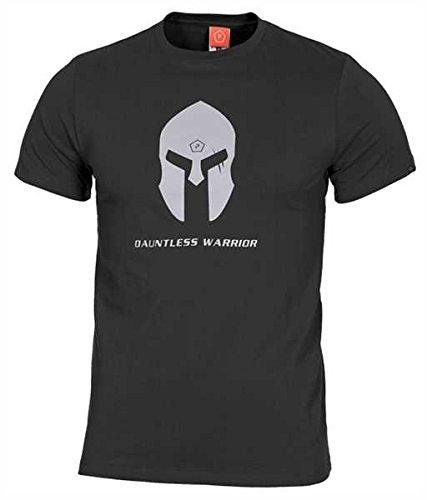Pentagon Herren Ageron T-Shirt Spartan Helmet Schwarz größe 3XL