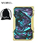 VOOPOO Drag 157W Cigarette électronique MOD Gold Edition TC Box No Nicotine, No E Liquid(Turquoise)