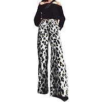 LILICATⓁ ¡¡¡Caliente Impreso Sexy Leopardo Banda elástica Pantalones Sueltos Pantalones de Pierna Ancha Mujeres Moda Imprimir Pantalones Largos Cintura elástica Pantalones Anchos de Pierna