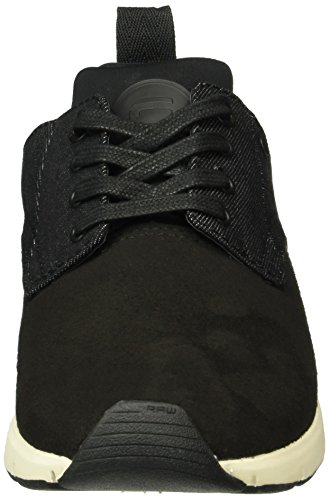 G-STAR RAW Damen aver Wmn Sneakers Schwarz (Black 990)