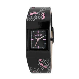 Kahuna KLS-0260L – Reloj para Mujeres, Correa de plástico Color Negro