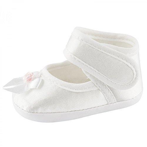 Taufschühchen Festliche Baby Taufschuhe Babyschuhe Mädchen Baby Sandalen, Baby Farbe:Rosa;Babyschuh Größe:13cm (Baby-mädchen Kleid Sandalen)
