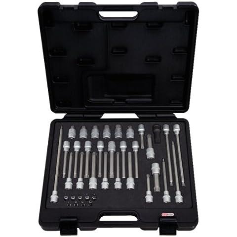 KS Tools 911.4500 - Pack de 38 piezas de bits con adaptador para mecánico (tamaño: 1/4