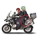 Compatible con per SYM Cubierta DE Pasajero Moto Tucano Urbano Impermeable R092-N Universal Adjunto Directo AL TERMOSCUDO del PILOTO Cubierta Acolchada