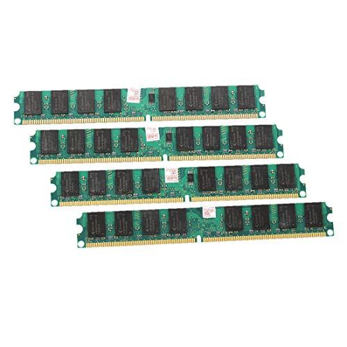 CUHAWUDBA 8G (4 x 2G) RAM Speicher DDR2-667 MHz PC2-5300 DIMM-Desktop-PC 240 Pin -