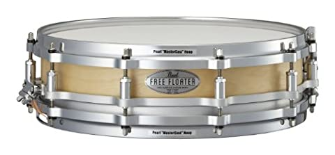 Pearl FTBB1435 14 x 3.5 Inches Free Floater Snare Drum