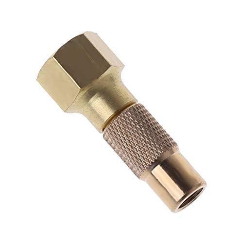keshida Reifenluftfutter Hochleistungsschraube auf Reifenluftfutter für Reifenfüller-Messgerät Kompressor-Zubehör Twist-on-Chucks -