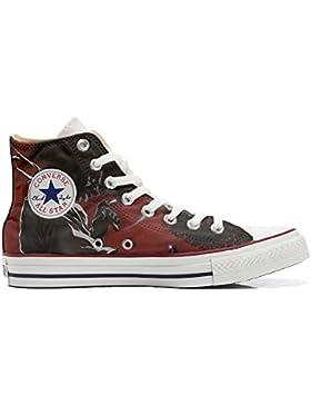 Converse All Star Customized - zapatos personalizados (Producto Artesano) Demon - TG33