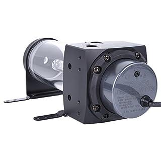 Alphacool 13307 Eisbecher D5 150mm Acetal inkl. 1x Eispumpe VPP755 V.3 Wasserkühlung Pumpen