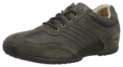 camel active Herren Space 12 Low-Top Grau (charcoal 31)