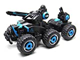 ICW RC Tank which Sprays Water, Electric Radio Controlled RC Car Boys Girls Toys, Shoots Water from the Turret