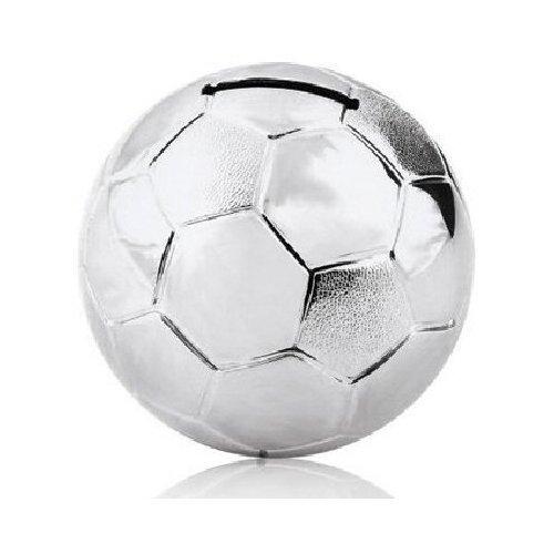 Juliana Collection, versilberte Fußball Spardose klein