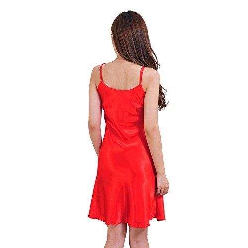 Moresave - Chemise de nuit - Femme red