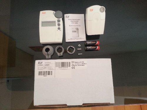 ELV FHT 8 Funk-Heizkörperthermostat Spar-Set für einen Raum