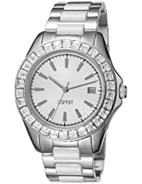 Esprit Damen-Armbanduhr Dolce Vita Ceramic Analog edelstahl weiss ES105902001