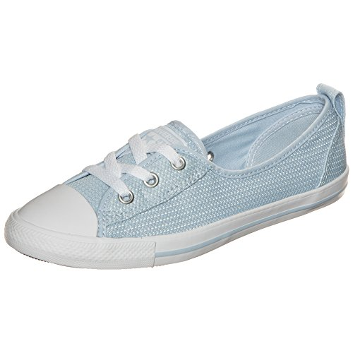 Converse Damen Chuck Taylor All Star Ballet Lace OX Sneaker blau, 36 EU