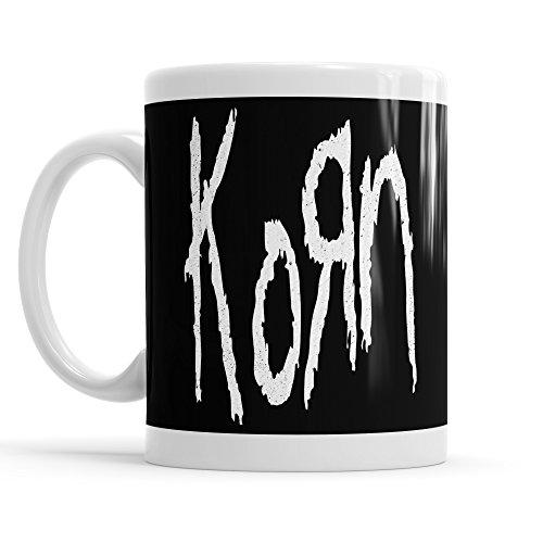 """Tazza MUG """"Korn - Big Logo"""" - tazza da thè e caffè in ceramica"""