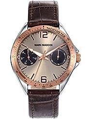 Reloj Mark Maddox Hombre HC7006-45 Multifunción Piel
