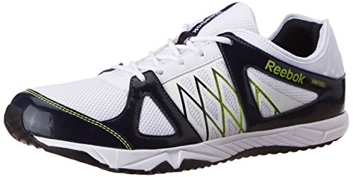 42418f21eb8fc Reebok v66789 Men S Ultimate Ride 2 0 Lp White Blue And Green Running Shoes  7 Uk- Price in India