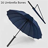 Balain Classic Toys Games Modelslong handle knife umbrella umbrella 16 bone navy (stool handle development) Do not install it