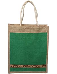 Style And Culture Jute Bag For Multi Purpose Use- Lunch Bag, Shopping Bag, Gift Bag (Color-Multi) - B074CHXX5Y