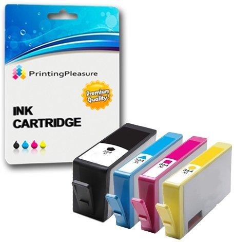4 Cartouches d'encre compatibles pour HP Deskjet 3070A, 3520, 3522,