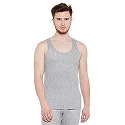 Neva Men Slim Fit Thermal Top Milange Grey Coloured XX-Large