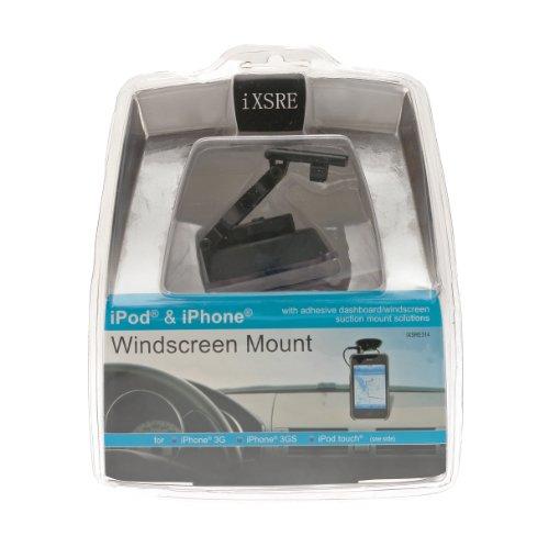Celsus IXSRE314 Scheiben-Halterung für iPod/iPhone Ipod-dashboard Mount