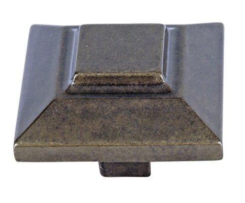 Atlas Homewares 1-1/2Die Classics Collection Trocadero-Knauf, Burnished Bronze, 1.5