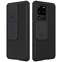 Nillkin® Samsung Galaxy S20 Ultra / S20 Ultra 5G Case, CamShield Pro Series Case with Slide Camera Cover, Slim Stylish Protective case for Samsung Galaxy S20 Ultra / S20 Ultra 5G - Black