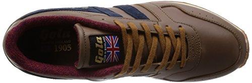 Gola Herren Track 1905 Schuhe taupe-navy (CMA906FE)